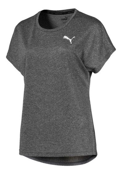 Camiseta Puma Active Mesh Heather Feminino