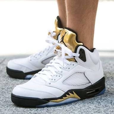 info for a603c 3405f Tenis Nike Air Jordan 5 Retro 136027 133 Pronta Entrega - R  550,00 em Mercado  Livre