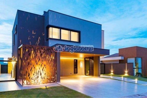Casa Com 3 Dormitórios À Venda, 310 M² Por R$ 1.980.000 - Sun Lake Residence - Londrina/pr - Ca0793