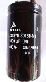 Kit 2 Capacitor Eletrolitico 400v/1500uf