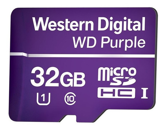 Cartao Micro Sd Purple Intelbras De 32gb