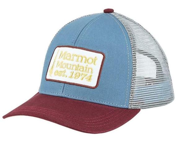 Gorra Marmot Retro Trucker Hat Para Sol Urbana Unisex