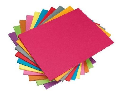 Cartulina 44.3 X 63.3 Cm Pack X20 Colores A Elección