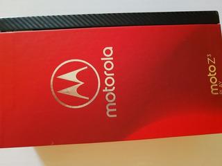 Moto Z3 Play 128gb + Moto Snap Power Pack E Tv Digital
