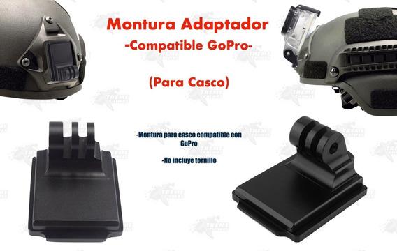 Montura Casco Adaptador Go Pro Nvg Táctico Militar Gotcha Xt