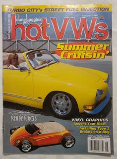 Revista Hotvws Vw Vocho Usada Agosto 1999