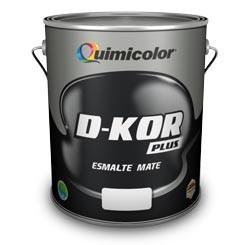 Pintura Esmalte (aceite)  D-kor Quimicolor Negro Por Galón