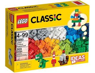 Lego Bloques Para Armar 303 Piezas De Varios Colores Nuevo