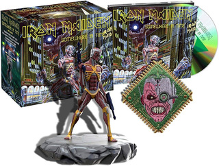 Iron Maiden Somewhere In Time Cd Remastered + Figura