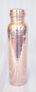 Thermo Botella De Agua Elegante Echa De Cobre 32oz. O 950ml