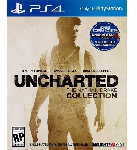 Jogo Uncharted The Nathan Drake Collection Ps4 Midia Fisica