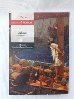 Odisea Homero Version Franco Vaccarini Cantaro El Mirador