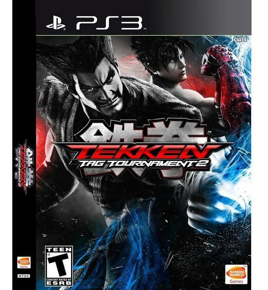 Jogo Tekken Tag Tournament 2 Ps3 Midia Digital Psn Envio Ja