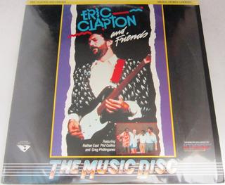 Eric Clapton - Eric Clapton And Frie Importado Usa Laserdisc
