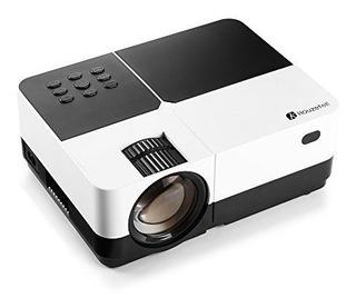 Proyector De Vídeo, Houzetek 2500 Lúmenes Lcd Multimedia P