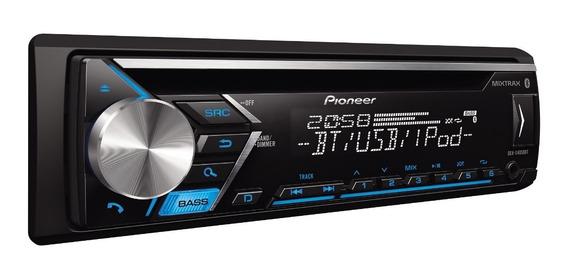 Estereo Pioneer Mvh-215 Bt Bluetooth Cd Aux Usb Instalamos