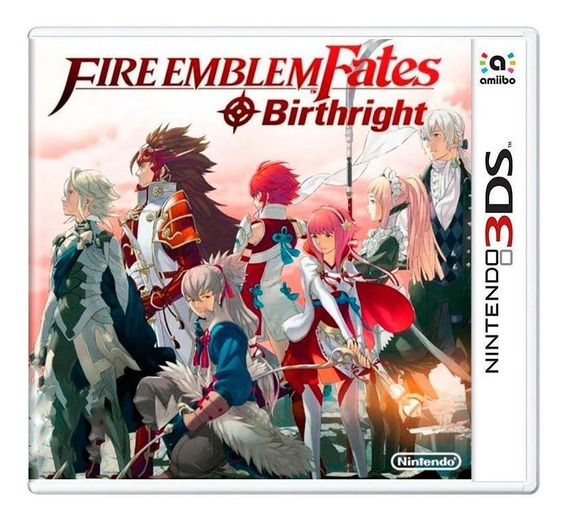 Fire Emblem Fates Birthright 3ds Mídia Física