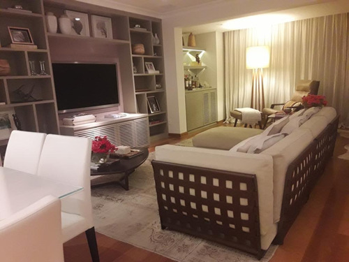 Apartamento Em Moema Pássaros, São Paulo/sp De 170m² 3 Quartos Para Locação R$ 10.000,00/mes - Ap876588