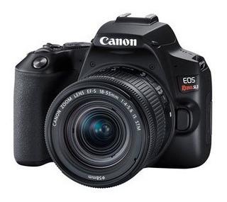 Camara Canon Eos Rebel Sl3 Kit 18-55mm F4 24,1 Mpx Cuotas