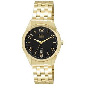 Relógio Masculino Analógico Dumont Du2315bd 4p - Dourado