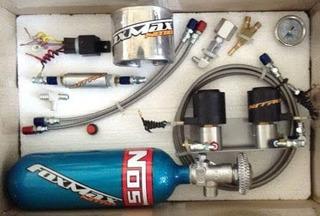 Equipo Oxido Nitroso Moto 1 Inyector Sistema Seco Nitro