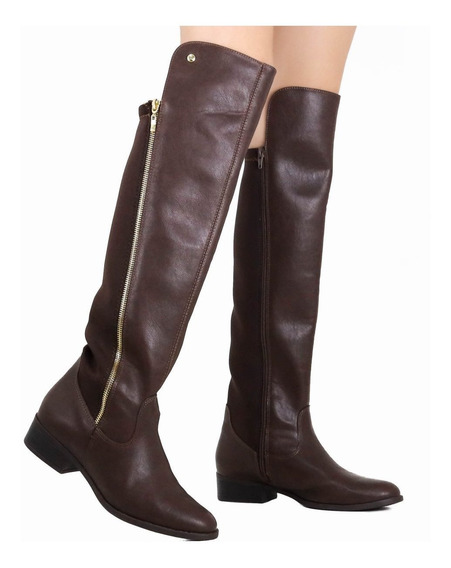 Bota Feminina Via Marte Over The Knee 19-101
