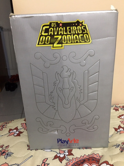 Box Cavaleiros Do Zodíaco Play Arte 21 Dvd