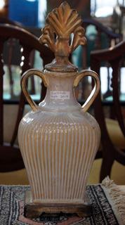 Antigo Vaso Ânfora Para Decoração De Cerâmica Clássica
