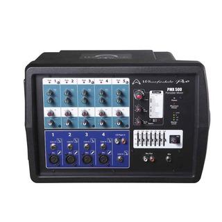 Consola Wharfedale Pmx500 Potenciada De 5 Canales 150w