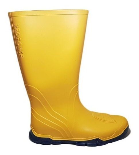 Bota Lluvia Proforce Nautica Unisex Amarillo Nº 35 / 44
