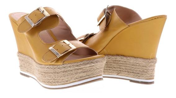 Sandalia Alta Para Mujer Material Yute Erez