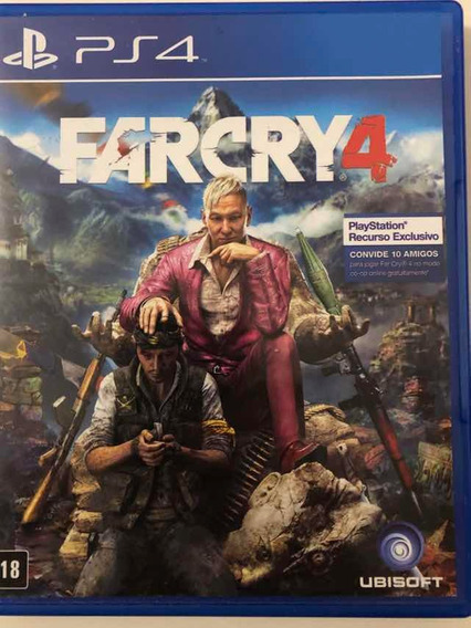 Far Cry 4 - Ps4 - Mídia Física