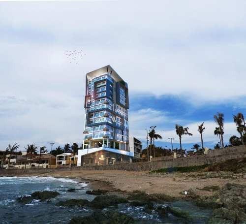 Condominio En Venta Frente Al Mar En Mazatlan