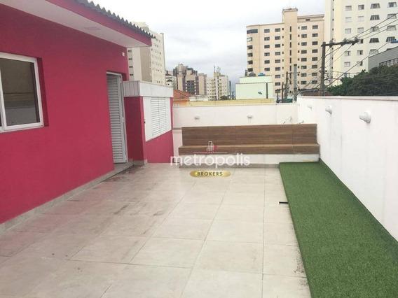Casa Comercial Com 160 M² Por R$ 5.800/mês - Osvaldo Cruz - São Caetano Do Sul/sp - Ca0467