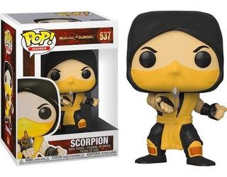 Funko Pop Scorpion 537 Mortal Kombat Baloo Toys