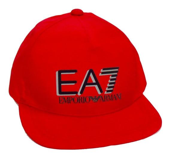 Gorra Emporio Armani Ea7 Roja Racing Red Baseball Cap
