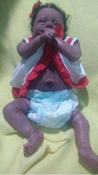 Boneca Bebe Usada Cabelo Implantado Nao E Cabelo Humano