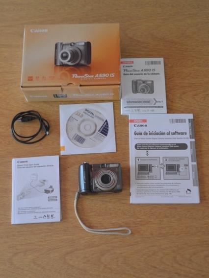 Camara Digital Canon Power Shot A590 Is.
