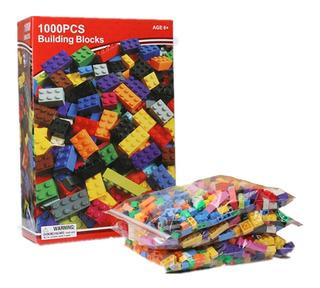 Bloques Construccion Compatible Con Lego 1000 Piezas Fichas