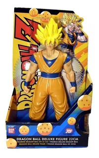 Fig Dragon Ball Z Super Saiyan Gokú 22cm Bandai Orangegame