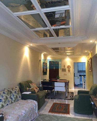 Imagem 1 de 30 de Apartamento Com 2 Dormitórios À Venda, 65 M² Por R$ 400.000,00 - Canto Do Forte - Praia Grande/sp - Ap0090