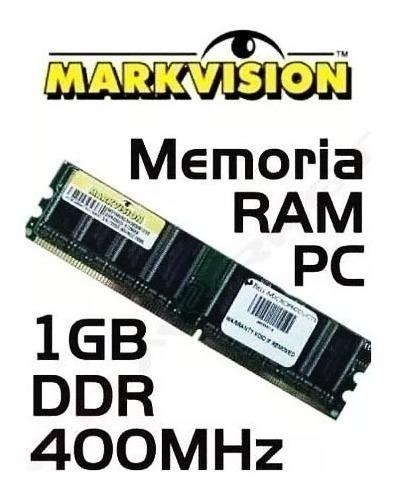 Mmeoria 1gb Ddr1 400mhz Markvisiom + Nf
