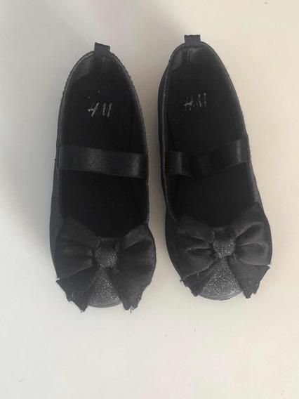 Chatitas, Guillerminas, Zapatos Hym Negros