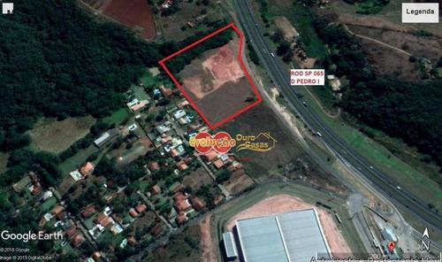 Imagem 1 de 3 de Terreno Industrial À Venda, Rodovia D Pedro  Itatiba -  Sp - Te2826