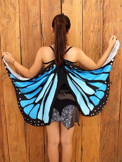 Asa De Fada/borboleta - Azul
