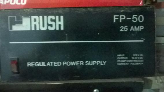 Fuente De Alimentación Regulada Modelo Fp-50 25 Amp