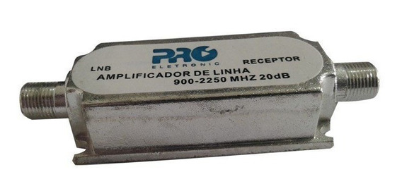 Amplificador Antena Parabolica Pqal 2010 Proeletronic 20db