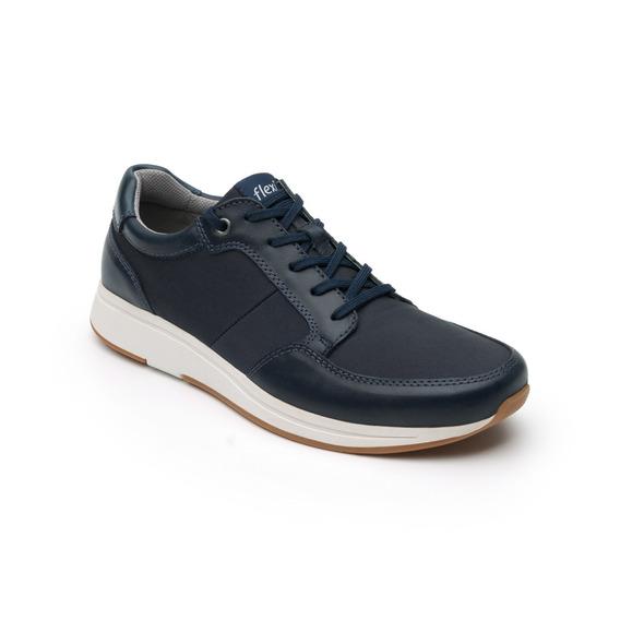 Sneaker Urbano Flexi Caballero 93307 Azul