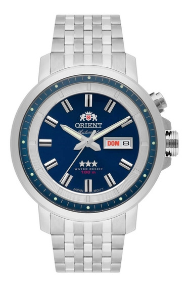 Relógio Orient Automatico 3 Estrelas Masculino 469ss079 D1sx