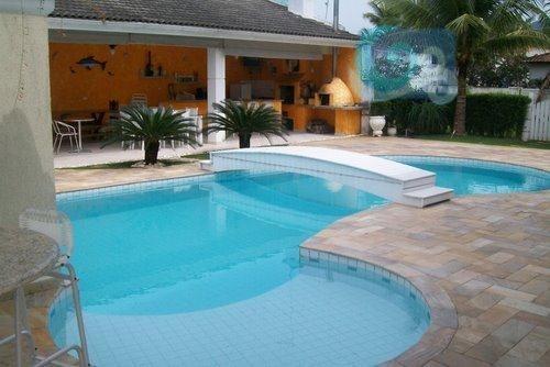 Imagem 1 de 27 de Casa Venda E Locação, Condomínio Jardim Acapulco - Guarujá - Ca0362